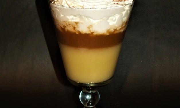 Bombardino s kafem