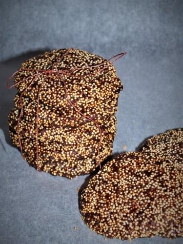 Instantní kakaové sušenky z amarantu