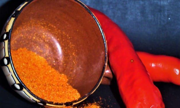 Kajenský pepř z čerstvých chilli papriček
