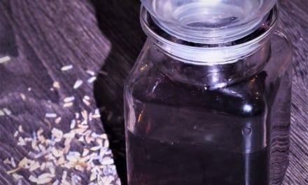 Levandulový sirup do kávy a čaje