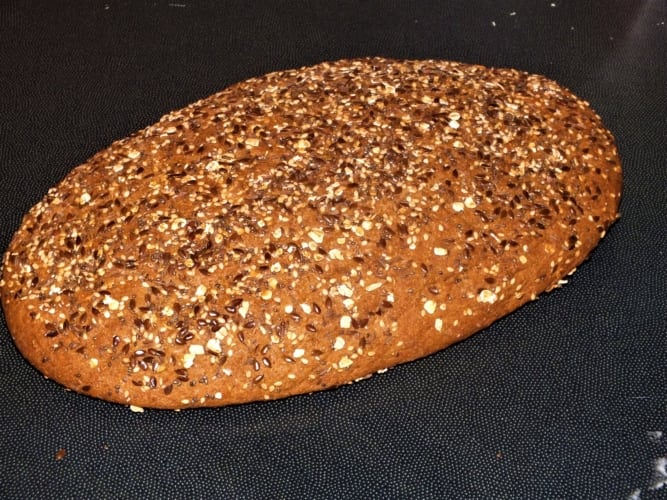 Směs na celozrnný chléb