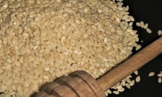 Tahini s medem (sezamová pasta)