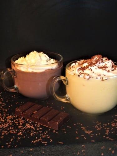 Horká pudinková čokoláda