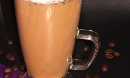 Levandulové laté s kávou