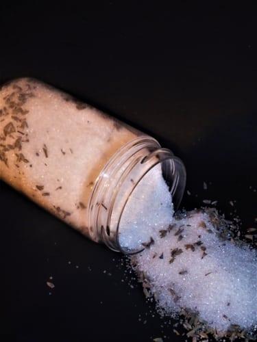 Levandulový cukr