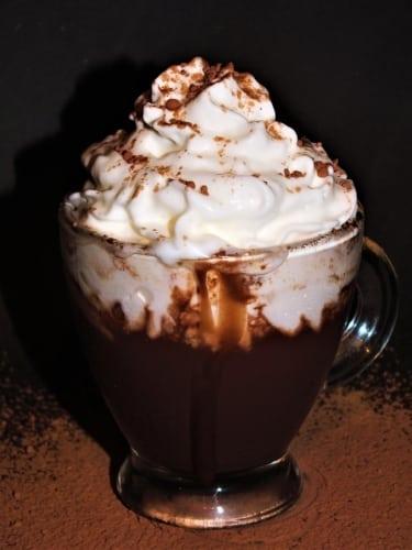 Hustá horká čokoláda