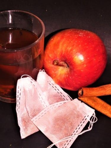 Horké jablíčko- sáčky s kořením