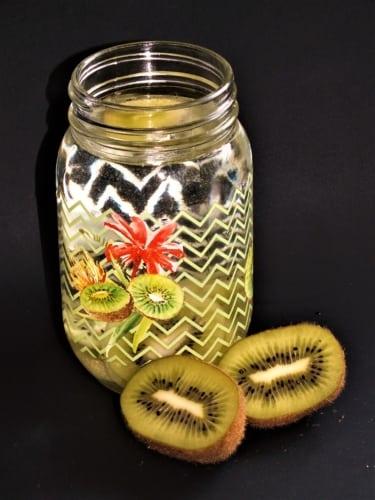 Ovocná voda- kiwi