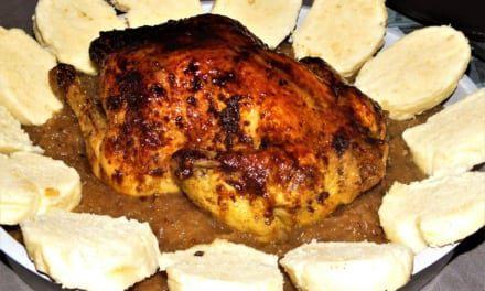 Koření kuře alá kachna