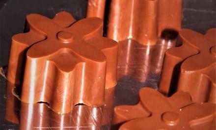 Veganská ledová čokoláda