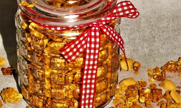 Arašídové müsli