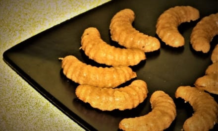 Arašídové rohlíčky pro vegany