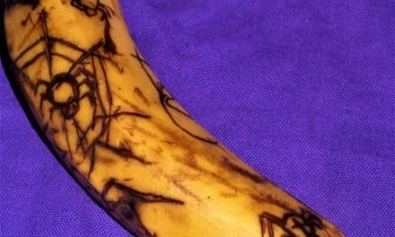 Vyřezávané banány
