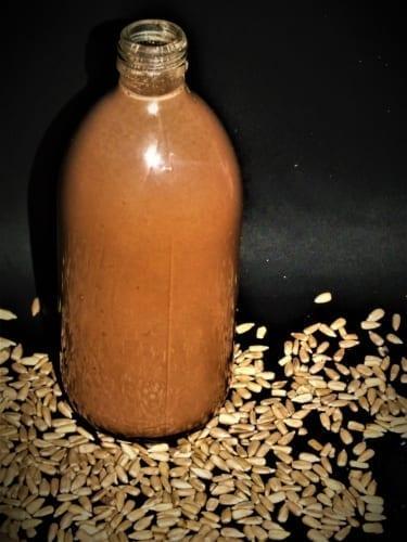 Kakaové slunečnicové mléko