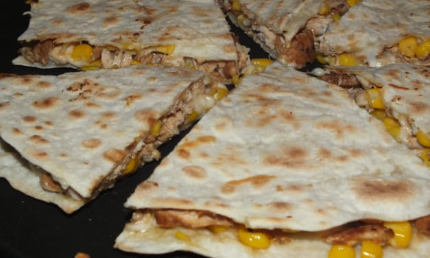 Kuřecí quesadilly
