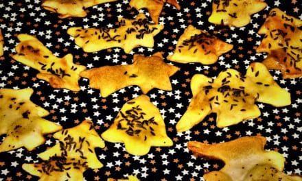Vánoční jogurtové chipsy