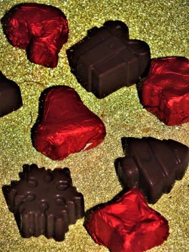 Vánoční ledová čokoláda