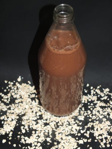 Čokoládové ovesné mléko bez lepku