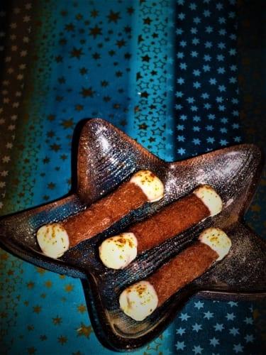 Chilli válečky s bílou čokoládou