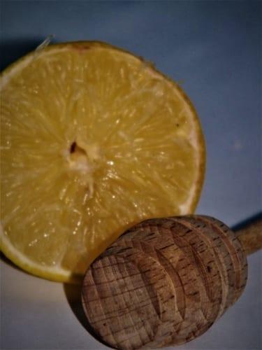 Prášek z citrónové kůry