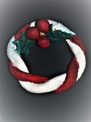 Slané těsto na výrobu vánočních ozdob a dekorací