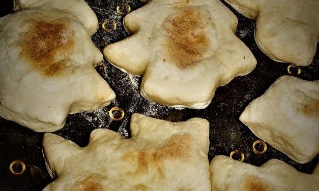 Stromečkový indický chléb (naan)