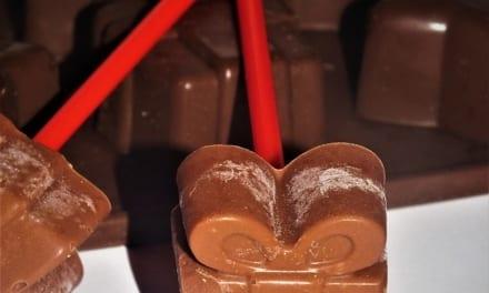Vánoční čokoláda na špejli (na přípravu horké čokolády)