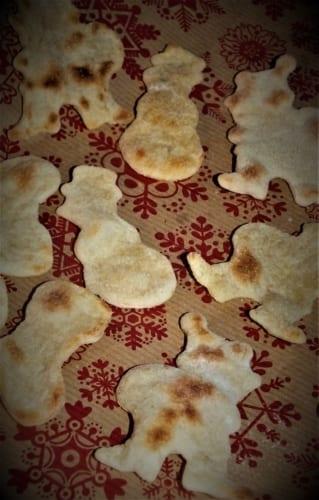 Vánoční tortillové chipsy