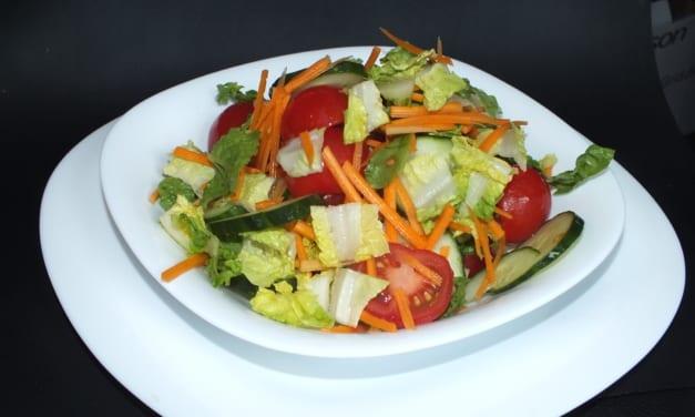 Hořčičný salátový dresink s medem