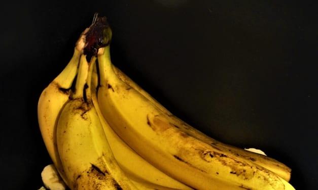 Banánová pleťová maska s pomerančem a jogurtem