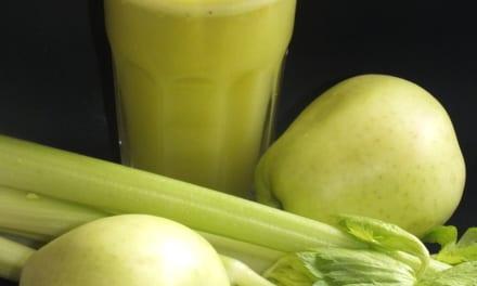 Džus celer a jablko