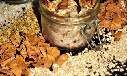 Koupelová sůl s heřmánkem a růží