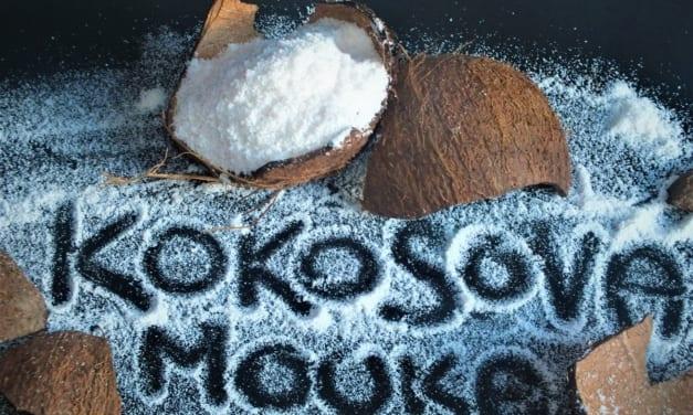 Raw kokosová mouka z čerstvého kokosu