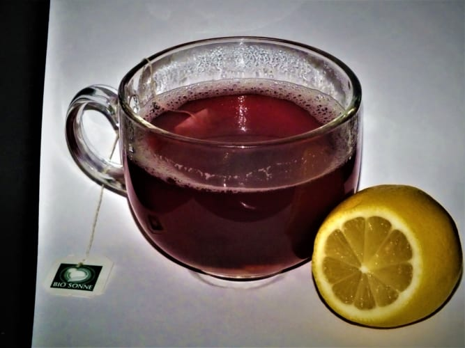 Ovocný chřipkový čaj