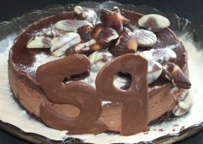 Narozeninový dort: cheesecake pro mého tatínka