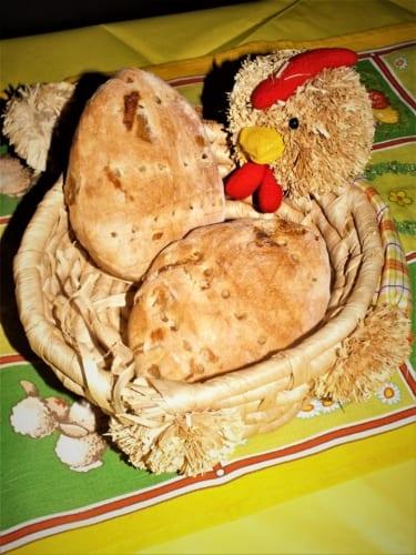 Velikonoční cibulové houstičky