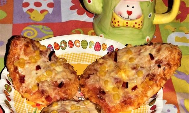 Velikonoční mini pizzy