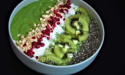 Avokádová smoothie bowl