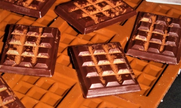 Poleva s chutí ledové čokolády