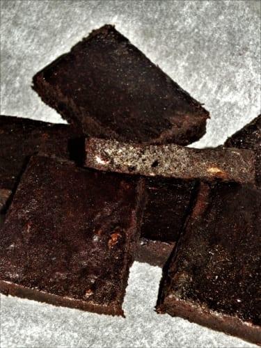 Avokádové brownies (veganské)