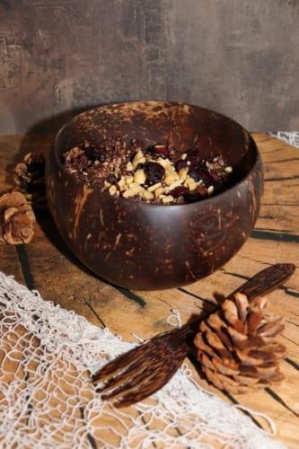 Čokoládové müsli s arašídovým máslem (nepečené)
