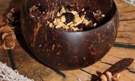Kokosové misky a příbory