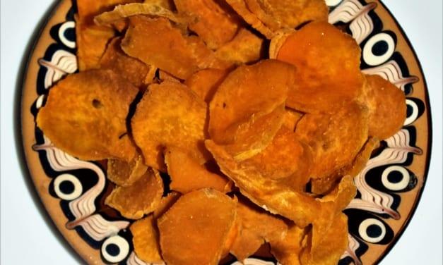 Chipsy z batát