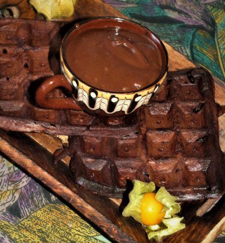 Čokoládový dip z avokáda (veganský)