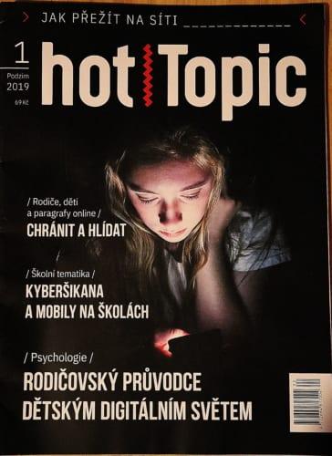 Časopis hotTopic: Jak přežít na síti