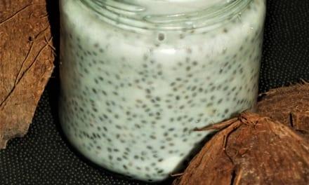 Kokosový chia puding