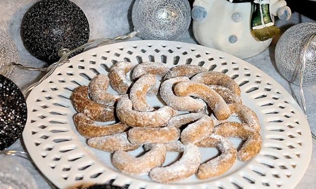 Proteinové vanilkové rohlíčky