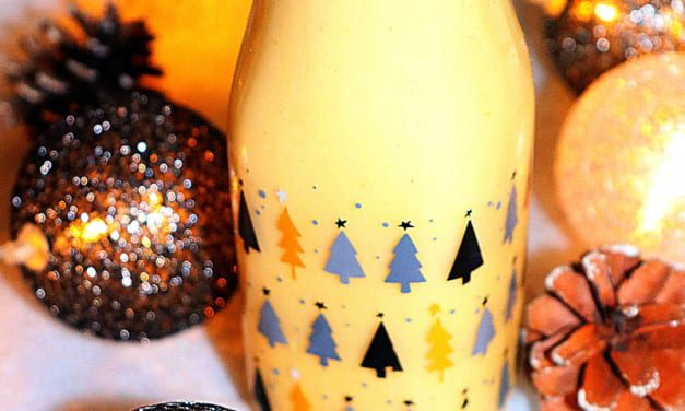 Vanilkový likér bez laktózy (chutná jako vaječný likér)