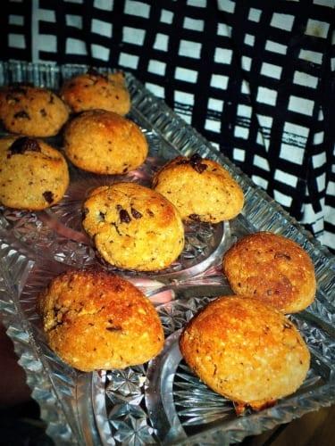 Bezlepkové cookies z kokosové mouky