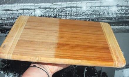 Oživení dřevěného prkénka